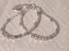 Two Strand Mothers Name Bracelet Brag by IddyBiddyBlingJewels, $90.00