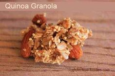 Roasted Banana-Nut Granola Recipe   snacks   Pinterest   Granola and ...
