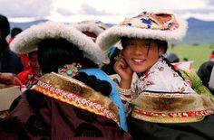 Beautiful tibetan Girls.