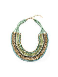 Bib necklace fancy-woman-BALSAMIK pearls   balsamik.fr