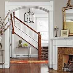 Millwork in a house is like the details on a fine piece of furniture.