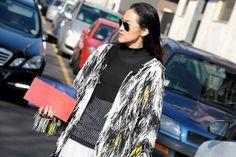 Milan Fashion Week - Fall/Winter 2014-15 #mfw #fashionweek #Streetstyle #mfw2014 #mfw14