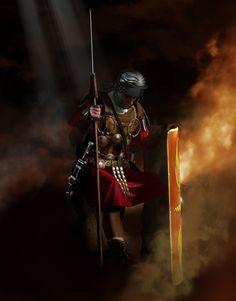 Centurión romano meditabundo, luciendo un Phalerae que demuestra su valor, cortesía de Luca Tarlazzi. http://www.elgrancapitan.org/foro/viewtopic.php?f=87&t=16979&p=882611#p882486