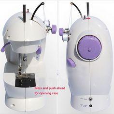 Jual Portable Mesin Jahit ( 2 benang + Pedal Kaki + Adaptor ) - ProdukUnik.com online shop