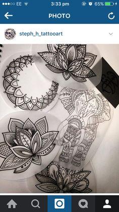 ❥ elbow tatto