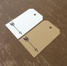 kraft paper arrow tag - Google Search