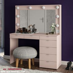 modern dressing table designs for bedroom 2019 Modern Dressing Table Designs, Dressing Room Design, Bedroom Furniture Design, Home Decor Furniture, Deco Furniture, Home Room Design, Home Interior Design, Room Ideas Bedroom, Bedroom Decor