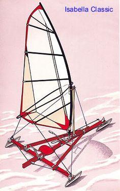 10ft gaff stern steerer Iceboat