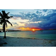 Sunset in the Florida Keys (€34) ❤ liked on Polyvore featuring backgrounds