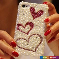 Love iPhone 5S Case Luxury iPhone 5S  iPhone 5 by Alice7Dreams
