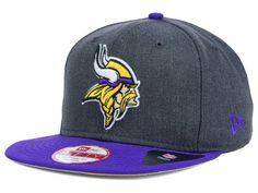 ec0421e9d67 Minnesota Vikings New Era NFL 2 Tone Action Original Fit 9FIFTY Snapback Cap
