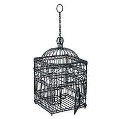 Buy Achla Designs Victorian Decorative Hanging Bird Cage - Topvintagestyle.com ✓ FREE DELIVERY possible on eligible purchases