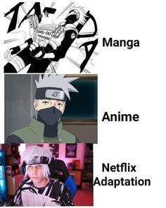Naruto Kakashi, Anime Naruto, Kakashi Memes, Kakashi Funny, Naruto Uzumaki Shippuden, Funny Naruto Memes, Manga Anime, Boruto, Best Memes