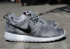 """#Nike Roshe Run Print """"Grey Marble"""" #sneakers"""