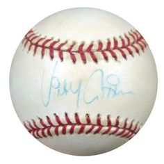 Vinny Castilla Autographed Signed NL Baseball PSA/DNA #S52594 . $29.00. This is an Official National League Baseball that has been signed by Vinny Castilla. The autograph has been certified authentic by PSA/DNA and comes with their sticker and matching certificate.