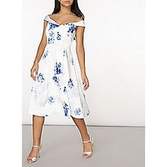 Dorothy Perkins - Luxe floral prom dress