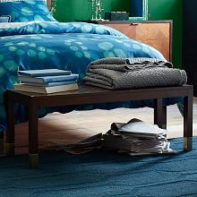 Upholstered Benches, Modern Benches & Living Room Benches | West Elm