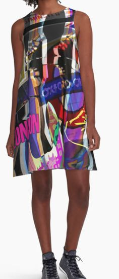 Dress designed by EFFY-CHI-T's. Full range available at:  http://www.redbubble.com/people/effychitshirts