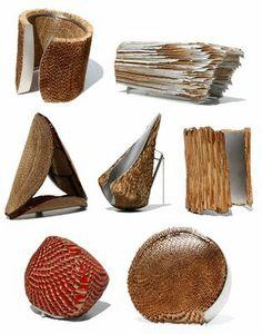 RITSUKO OGURA (Japan) - corrugated cardboard jewellery
