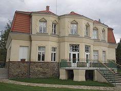 Josef Gočár, auerova vila v Libodřicích u Kolína, 1913