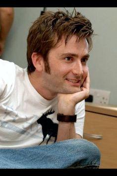 David Tennant. Simply adorable!