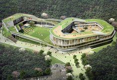 청심 국제 초등학교 GREEN RING 2009 운생동 건축사사무소 http://www.usdspace.com/ 근대적인 초...