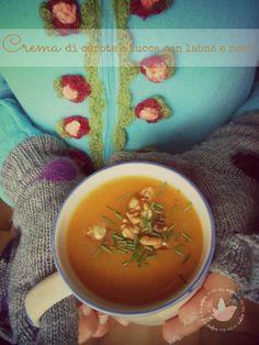 lacasasullaScogliera : Crema di carote e zucca con labna e noci ed ecco l'autunno!