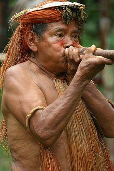 Amazonian Yahua (Yagua) Tribe
