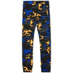 Nike F.C. Real Bristol Sweat Pant (Atomic Orange Camo)