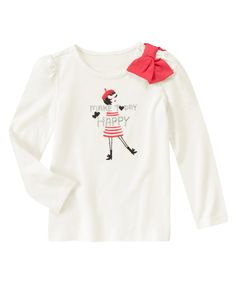 Happy Today Long Sleeve Tee at Gymboree