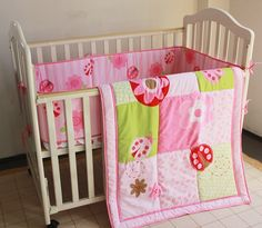 67.80$  Watch now - http://alif8s.worldwells.pw/go.php?t=32675111119 - Promotion! 3PCS embroidered Baby cradle bedding set comforter set for girl and boy ,include(bumper+duvet+bed cover)