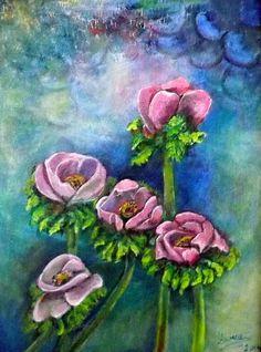 Tavasz9 Anna, Painting, Painting Art, Paintings, Painted Canvas, Drawings