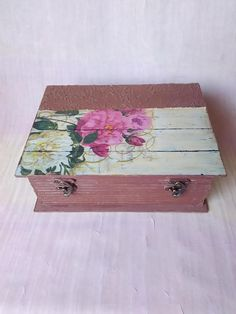 This is a wooden handmade and handpainted vintage decoupage box. A beautiful gift for the people You love or friends.Vintage decoupage box in the form of the book is a beautiful decoration in your home. Decoupage Box, Anniversary Gifts, Decorative Boxes, Hand Painted, Unique Jewelry, Handmade Gifts, Book, Painting, Etsy