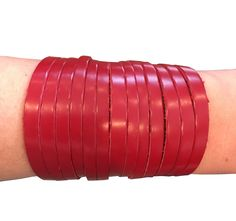 Lynne Curtin - Signature Slinky Love Bracelet in Red