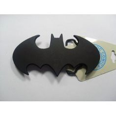 Amazon.com: Official cut out BLACK Batman Belt Buckle LICENSED with TAGS: Everything Else