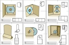 Image Result For Cd Packaging Template   Pinteres
