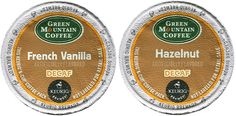 Green Mountain FRENCH VANILLA DECAF and HAZELNUT DECAF Flavored Variety Pack 48 K-Cups for Keurig Brewers *** Visit the image link more details.
