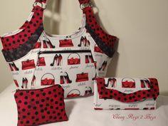 Quattro by StudioKat Handbag Tote Purse by ClassyRags2Bags on Etsy