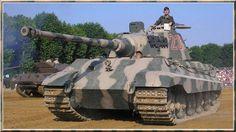 3RD REICH PZ6B ONLY WORKING TIGER II