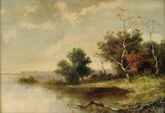 """Lev L'vovich Kamenev (1833-1886), """"A still cove"""" by sofi01, via Flickr"""