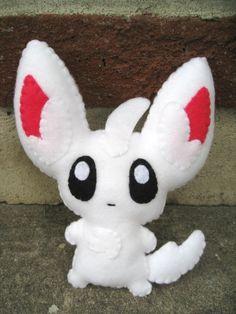 Minccino Chirami pokemon plush by P-isfor-Plushes on DeviantArt
