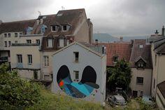 Tra gli ospiti più attesi di questa nuova edizione dell'eccellente Bien Urbain Festival di Besançon troviamo senza dubbio 108, il grande artista fa un en plein proponendo due opere su muro, un esibizione e, ciliegina sulla torna, una nuova stampa