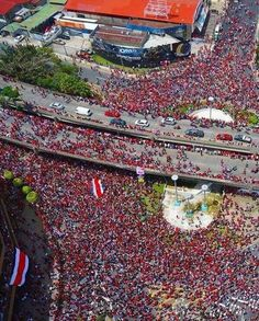 Costa Rica in the world cup Brazil 2014! This is what happens when Costa Rica wins 1-0 against Italy! Proud of my country!