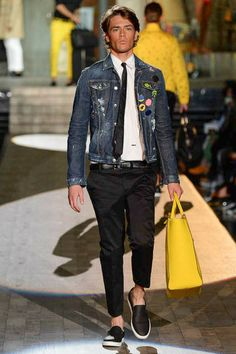 Dsquared² | Spring 2015 Menswear Collection | Look 2