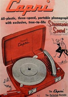 """Ad for """"The Capri"""" with **Stereophonic Sound**  :)"""