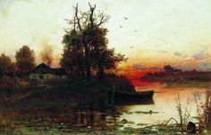 Клевер Юлий Юльевич (старший) [1850—1924] Вечерняя тишина. 1894