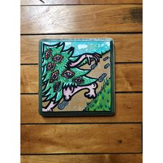 Your place to buy and sell all things handmade Wood Artwork, Painting On Wood, Small Paintings, Original Paintings, Hippie Drawing, Trippy Painting, Paint Pens, Psychedelic Art, Art Drawings Sketches