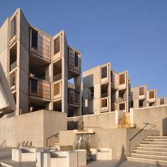 #sundaybldgfeature Salk Institute by Louis Kahn (at Salk Institute)