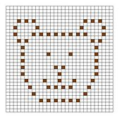 Ravelry: Bear Bobble Chart pattern by Kari Philpott