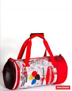 Spraycan Duffle from Sprayground